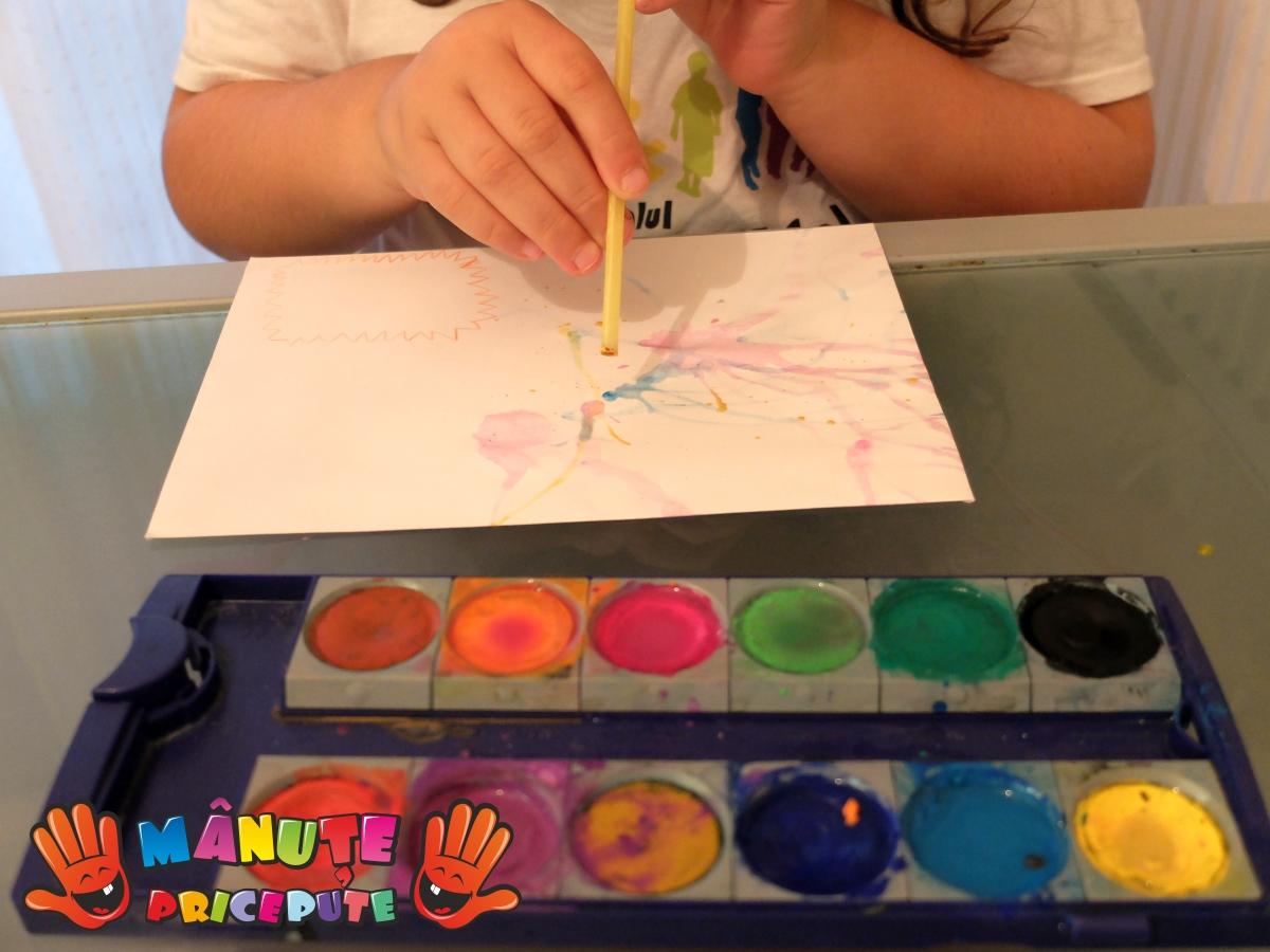 Pictura cu paiul