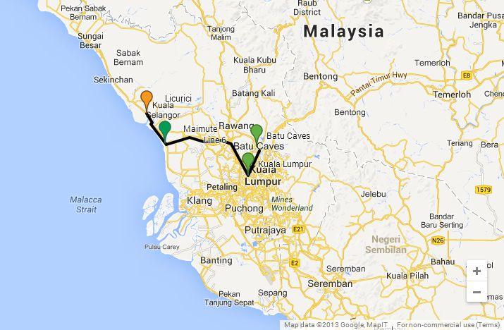 Malaezia Ziua 62 Kuala Lumpur Batu Caves Maimute Si
