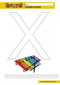 X - 003 - Litere de tipar