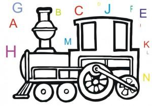 trenul literelor