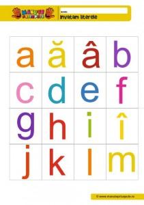 011 - litere de mici de tipar