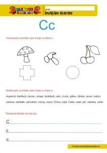 C - 005 - litere mici de tipar