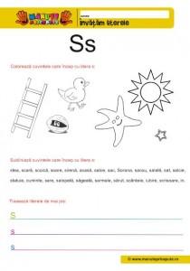 S - 006 - litere mici de tipar