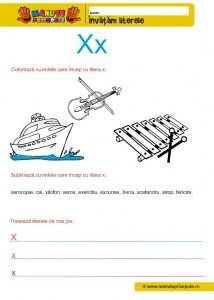X - 004 - Litere mici de tipar