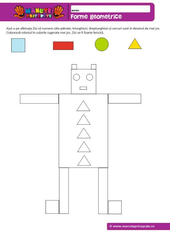 Robot – forme geometrice