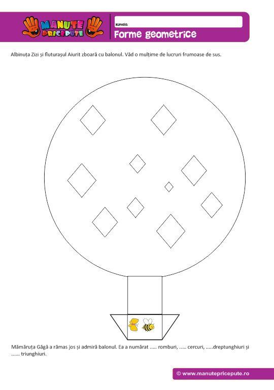 Forme geometrice – Balonul