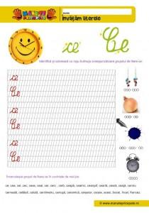 CE - 001 - Grupul de litere ce