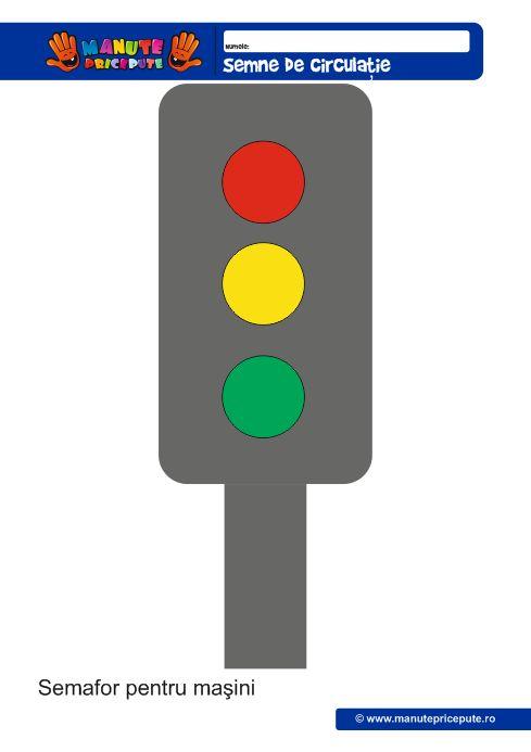 Semaforul pentru masini