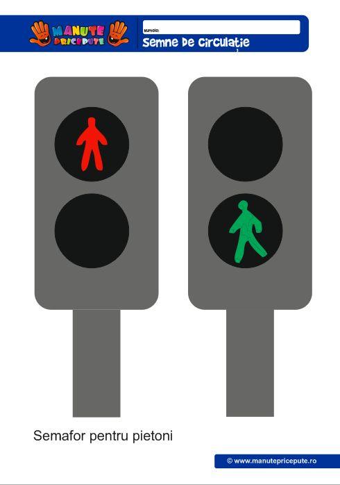 Semaforul pentru pietoni