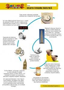 001 - Ceasul - Istoria ceasului pentru copii