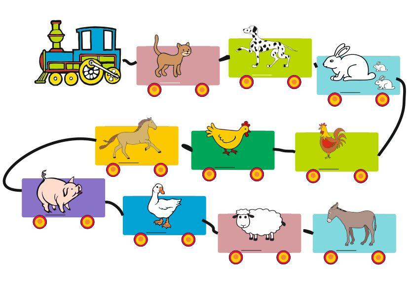 Trenul animalelor domestice