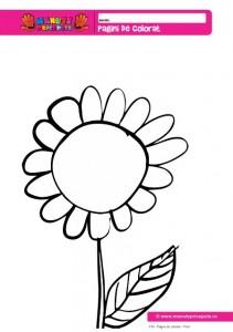 010 - Pagini de colorat - Flori