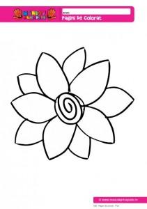 025 - Pagini de colorat - Flori
