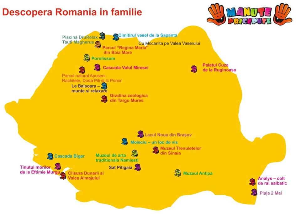 Castigatorul concursului Descopera Romania in familie