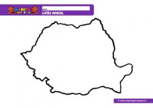 Harta Romaniei De Colorat Harta