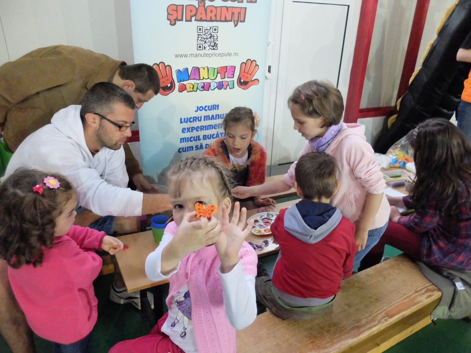 Ateliere in familie la Yard Sale Cluj