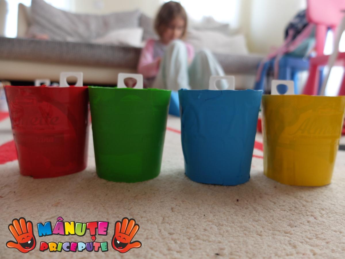 Reciclare cutii de plastic