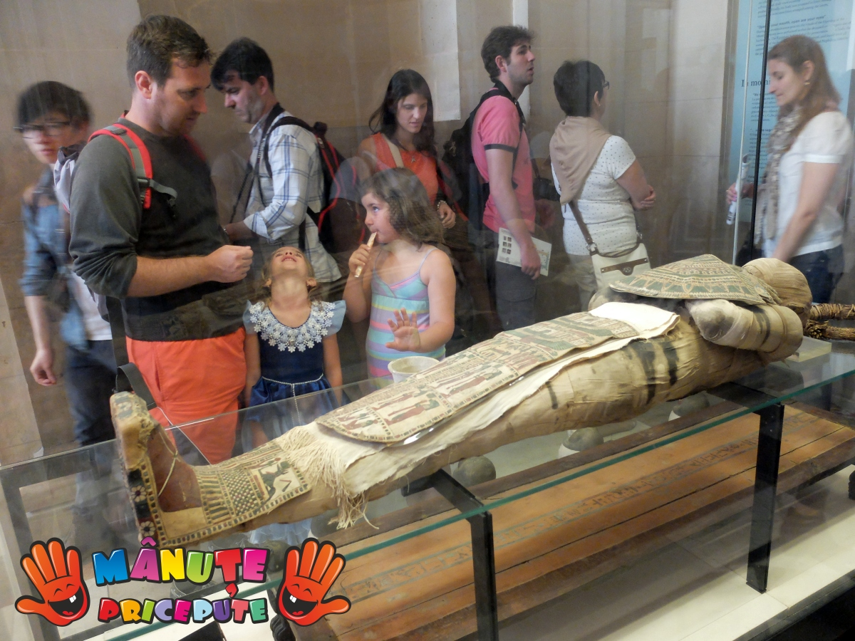 O călătorie în timp în Egiptul Antic – Luvru