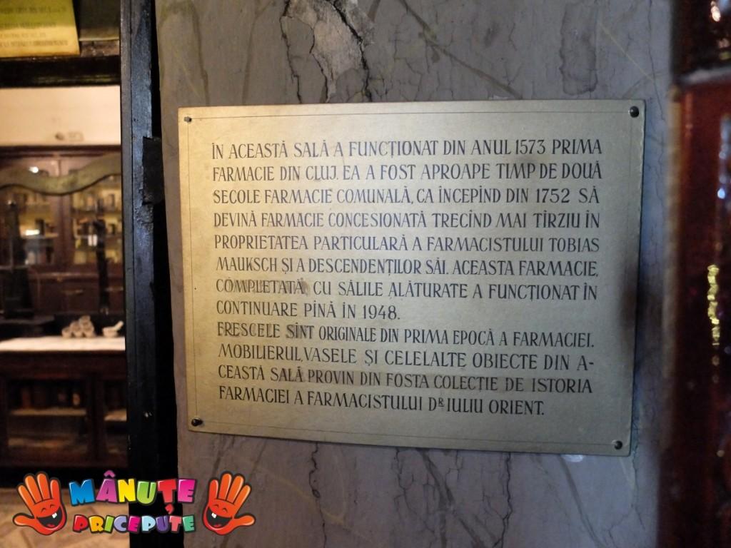 Manute Pricepute -  Muzeul Farmaciei Cluj - 9
