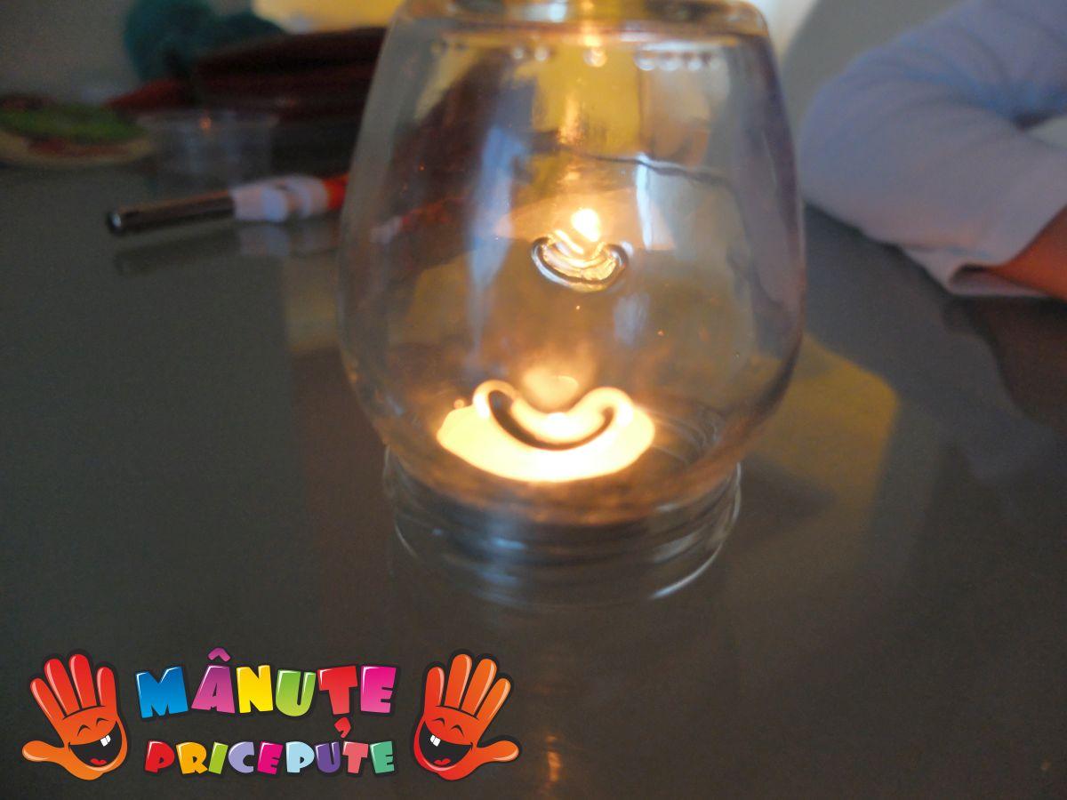 Experiment cu lumânare