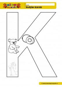 K - 010 - Fise de lucru cu litere de tipar