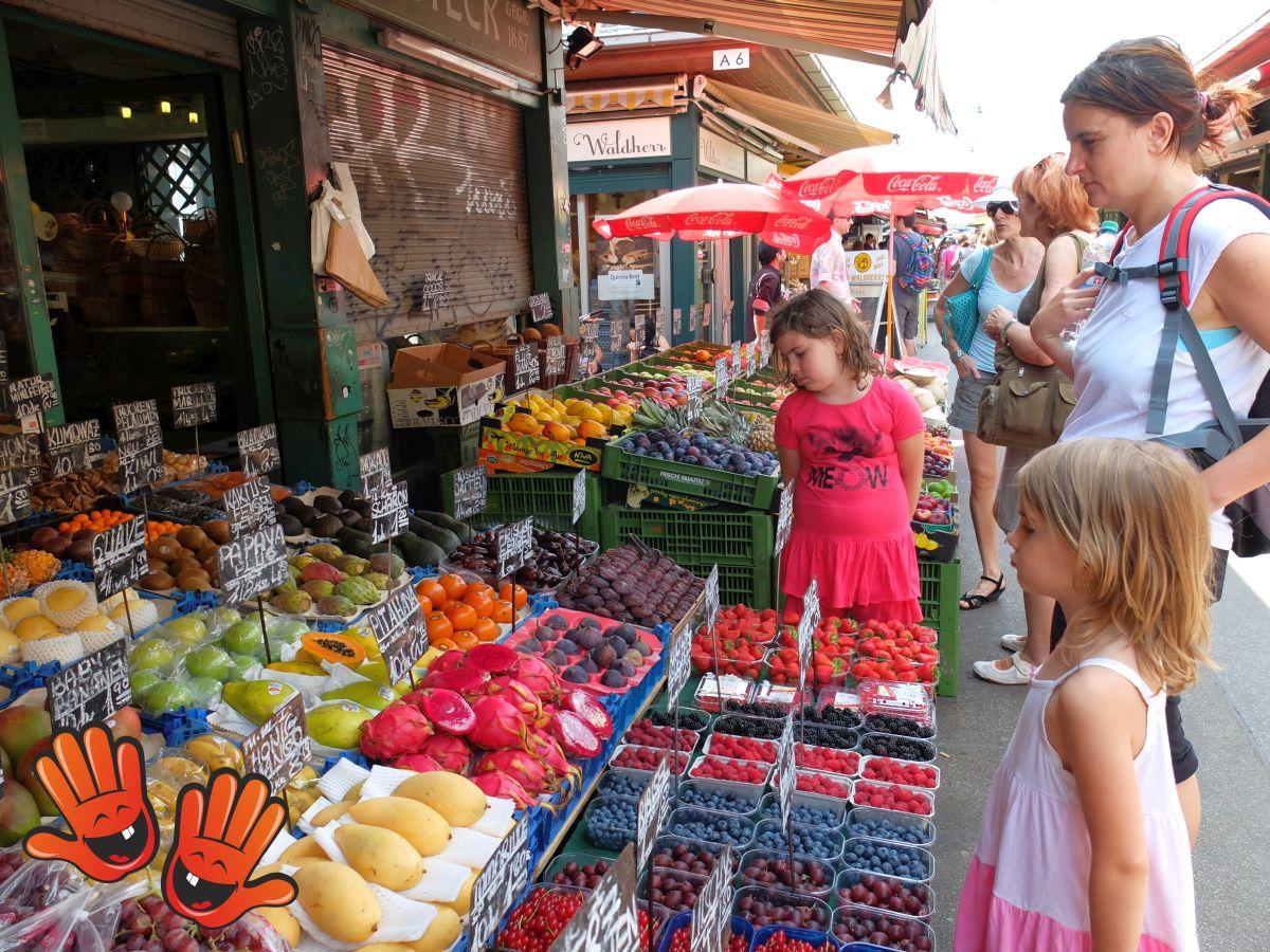 Naschmarkt – piața fructelor și a delicateselor