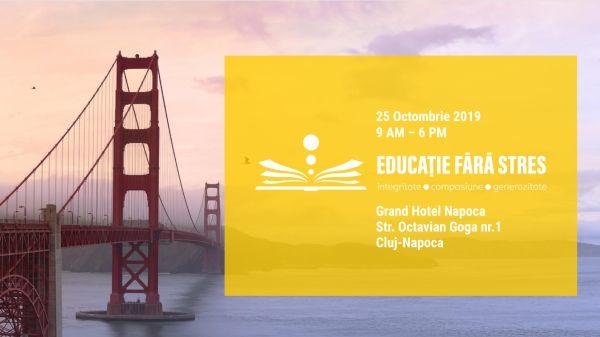 Conferința Educație fără stres