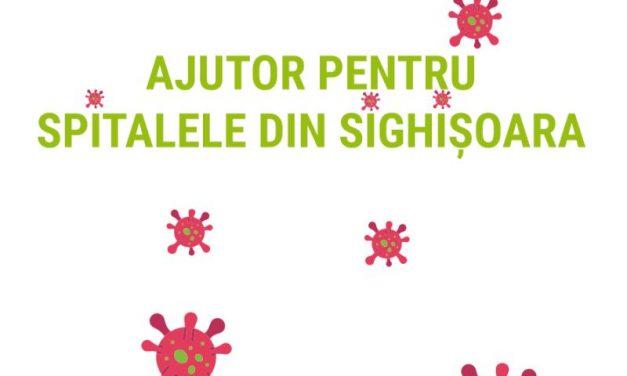 Ajutor pentru spitalele din Sighișoara
