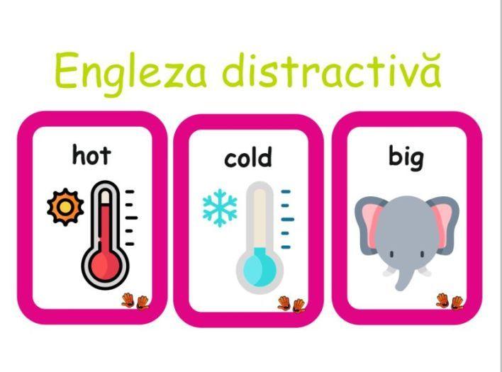 Cărți de joacă cu adjective