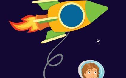 Clasa astronauților – afiș