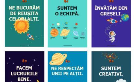 Clasa astronauților – regulile clasei