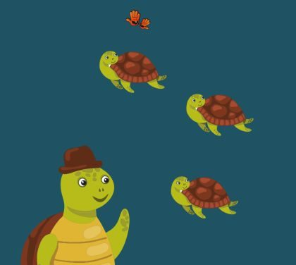 Clasa broscuțelor țestoase – afiș