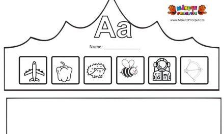 Coroniță pentru litera A